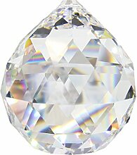 9 Stück Kristallglaskugel 20mm im Set