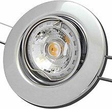 9 Stück MCOB LED Einbaustrahler Elena 12 Volt 3