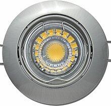 9 Stück MCOB LED Einbaustrahler Fabian 12 Volt 3