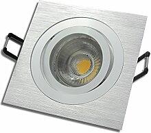 9 Stück MCOB LED Einbaustrahler Lena 230 Volt 7