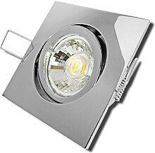 9 Stück MCOB LED Einbaustrahler Luisa 12 Volt 5