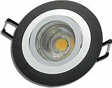 9 Stück MCOB LED Einbaustrahler Nele 12 Volt 3