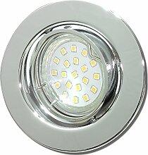 9 Stück SMD LED Einbaustrahler Elena 12 Volt 3