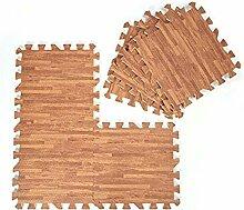 9 Teile 30x 30cm Puzzle-Teppich aus