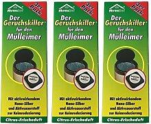 9 x Ahrenshof Der Geruchskiller für den Mülleimer, Mülleimerduft, Gerruchsstopp, Gerruchsentferner