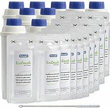 9x DeLonghi Wasserfilter QUVIDO DVD + 9x DeLonghi Entkalker Mini 2x 100ml + Reinigungsbürste