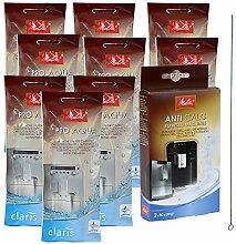 9 x MELITTA PRO AQUA Wasserfilter + MELITTA ANTI