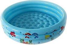 90/150 cm Kinder Aufblasbare Pool Badewanne Runde