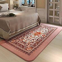 90 * 185CMEuropean Pastoral Rechteckige Teppich Bett Nachttischdecke ( farbe : 2# )