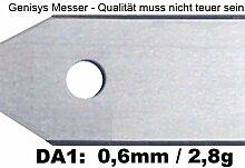 90 Messer (0,6mm) & Schrauben für den Husqvarna