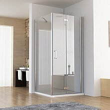 90 x 80 x 197 cm Dusche Duschkabine 90cm Falttür