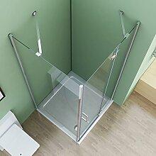 90 x 90 x 195 cm Duschkabine Eckeinstieg Dusche