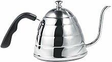 900 ml Edelstahl über Kaffeekessel gießen,