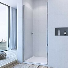 90cm Duschtür Duschabtrennung Nischentür