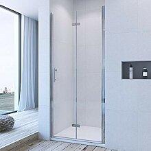 90cm Nischentür Duschtür Falttür Duschwand