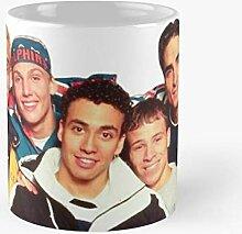 90S Boys Backstreet Best 11 Ounce Ceramic Coffee