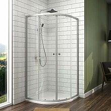 90x90 185cm Duschkabine duschabtrennung glas