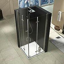 90x90 cm Duschkabine Doppelt Duschtür  