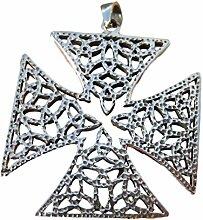 925Silber keltische Tempelritter Eisernes Kreuz