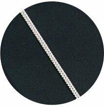 925er Sterling-Silber Kette - Fuchsschwanz 60 cm