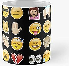 92Novafashion Colorful Emoticon Black Emoji Trendy