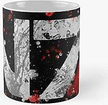 92Novafashion Splatter Logo Effect Symbol White N7