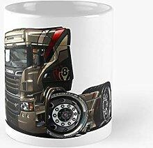 92Novafashion Trucks R730 Scania Streamline Amber