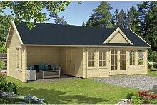 930 cm x 400 cm Gartenhaus Rey Garten Living Dach: