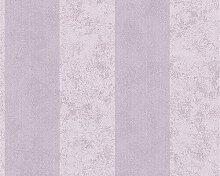 953731 Vlies (mit Streu) - TAPETE Metallic/Violett 9537-31 AS-Creation
