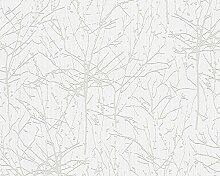 958481 Vlies - TAPETE Beige/Weiß 9584-81 AS-Creation
