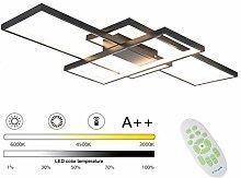 95W LED Deckenleuchte Rechteckig Wohnzimmerlampe