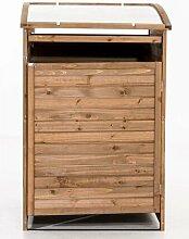96 x 83 cm Mülltonnenbox MX240 aus Holz 17 Stories