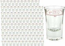 96er Set Schnapsglas DUBLINO mit Eichstrich, 2 cl,