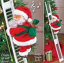 99AMZ 2 Stück Elektrische Weihnachtsmann,