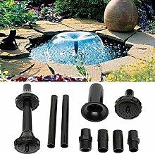 9PCS / Set Springbrunnenpumpendüsen-Set,