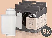 9x Filterpatrone Seltino PRIMO - Ersatzfilter für Brita Intenza 467873 TZ70003, für Espressovollautomaten Bosch, Neff, Siemens, Gaggenau... (3x 3er Pack!)