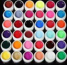 a-goo 36Farben Transparent Pure UV Gel