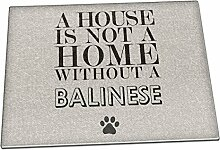 A House Is Not A Home Without A Balinesischer Glas