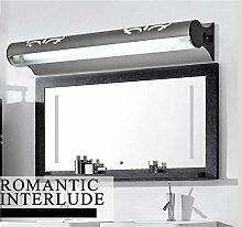A Moderne Einfache Anti-fog LED-Spiegel-vordere Lampen-Spiegel-Lampen-Badezimmer-WC-Verfassungs-Spiegel-Schrank-Toiletten mit einem Schalter ( Farbe : Weißes Licht-34.5*7.5*5.5CM )
