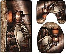 A.Monamour Badematten & -teppiche Toilettenmatt