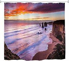 A.Monamour Duschvorhänge Australien Große Ozean