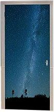A.Monamour Nachtfelder Blau Sternenhimmel Sterne