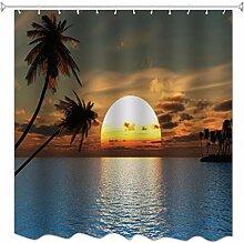 A.Monamour Sonnenuntergang Ozean Meer Tropische