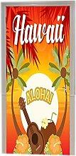 A.Monamour Türtapeten Selbstklebend 3D Aloha