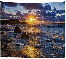 A.Monamour Wanddekor Wandteppiche Ozean Meer