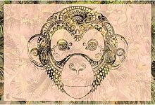 A.s.creations - DD118100 MonkeyPattern2 Atelier 47