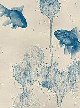A.s.creations - DD119134 Blue Fish Designwalls