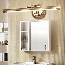 A Spiegelleuchte Einfache Toilettenlampe Europäische Badezimmer Badezimmer Badezimmer Wasserdicht Nebel Led Spiegel Schrank Lichter