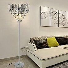 A Stehlampe Schlafzimmer kreative moderne Luxus-Kristall-Lampe Wohnzimmer einfach modern