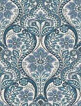A-Street Prints SCH12102 Tapete blau